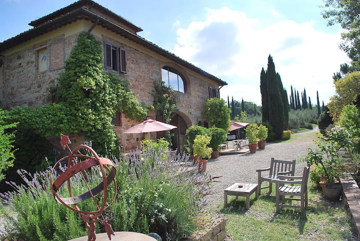 Villa in Tuscany with friends :)