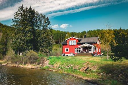Naturidyll og fiskelykke i hjertet av Telemark?