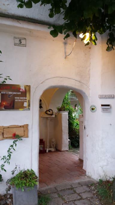 Entrance opened