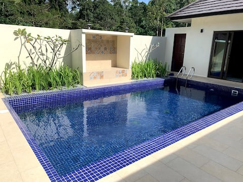 Charis Janda Baik Villa 2 With Private Pool+River