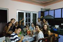 Shine Homestay Family English/français double room