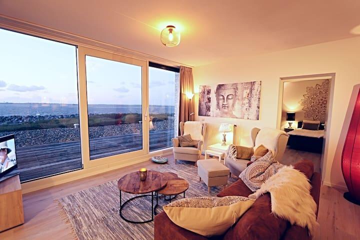 Apartment mit Blick auf das Meer