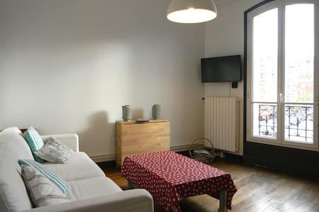 Sunny flat, 45m2, Porte St Cloud - Paris