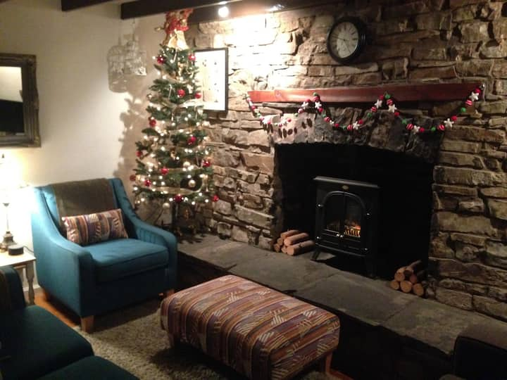 Traditional cosy cottage in the Brecon Beacons
