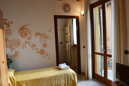 "La Cascata ""Twin Suite Lake View"" - Nesso - Casa"