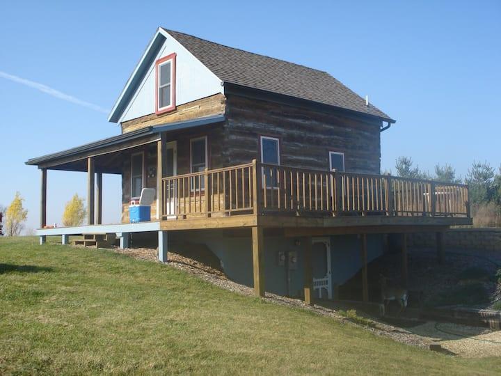 Renovated 1850's log cabin