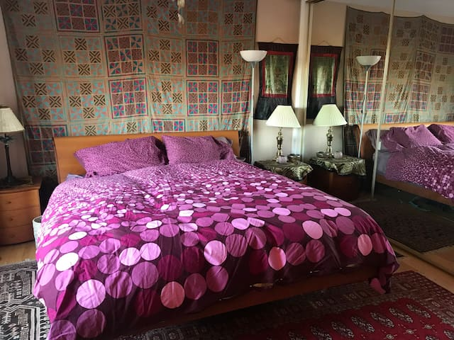 Master Bedroom in Mountainside Villa