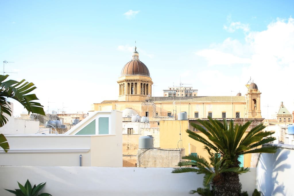 The Cathedral cupolas, bell towers and colourful rooftops can be admired from the roof terraces.
