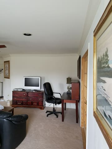 A Roomy Suite with Separate Entrance