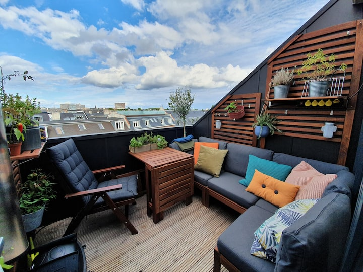 New Yorker penthouse with private rooftop terrace