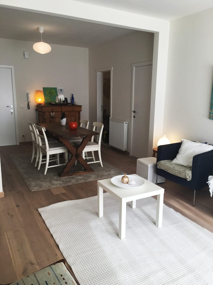 Cosy apartment with sunny garden & comfy bed (TML)
