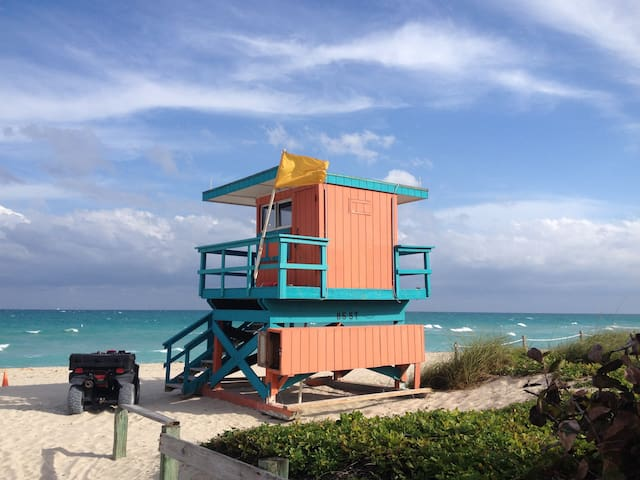 Room with breathtaking Ocean view - Miami Beach - Bed & Breakfast