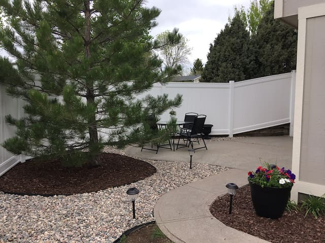 Patio Suite With Beautiful Spaces Inside and Out