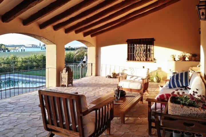 Magnificent Villa between vineyards