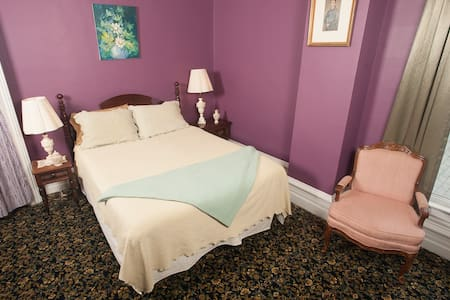 The Lilac Room in my boutique hotel - Taylorville