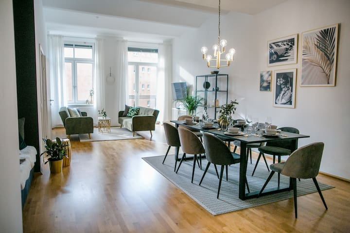 Luxus Apartment am Hauptplatz + WLAN + Küche
