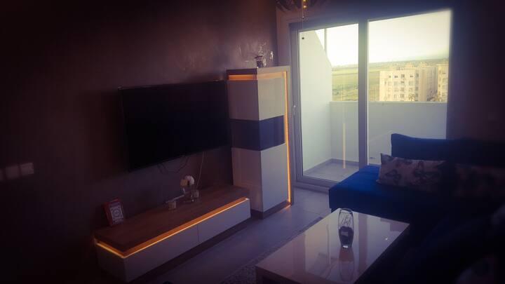Appartement balnéaire avec piscine à Bouznika