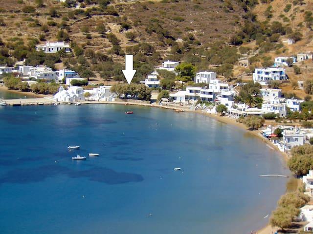 Dorothea's - seaside house in Vathi beach, Sifnos