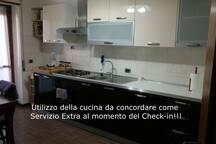 Utilizzo della cucina da concordare come servizio aggiuntivo!!!
