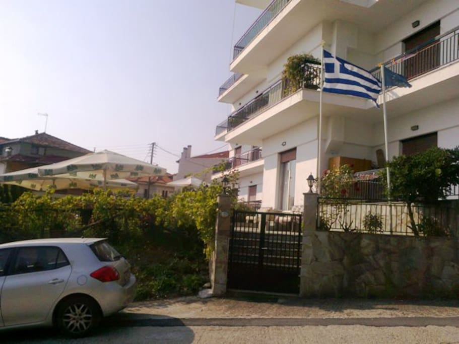 The pension Olympos