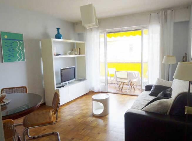 RESIDENCE DU CASINO 2 pièces avec 2 terrasses - Menton - Lägenhet
