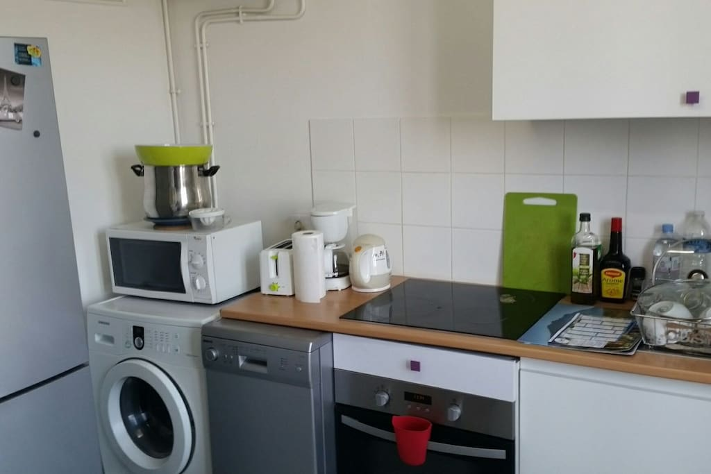 Shared equipped kitchen:)