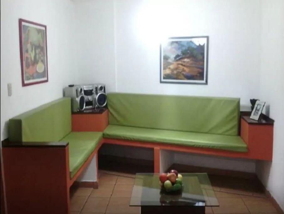 Sala del Dpto. en foto espontánea.