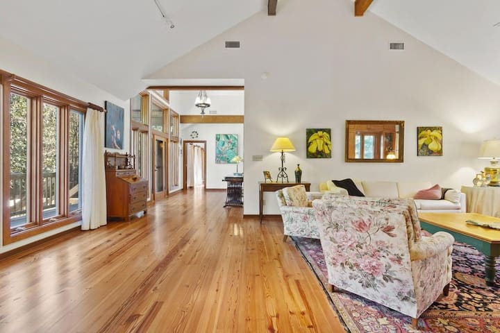 Executive Home, Acreage, Trails, Dock, Lake, River