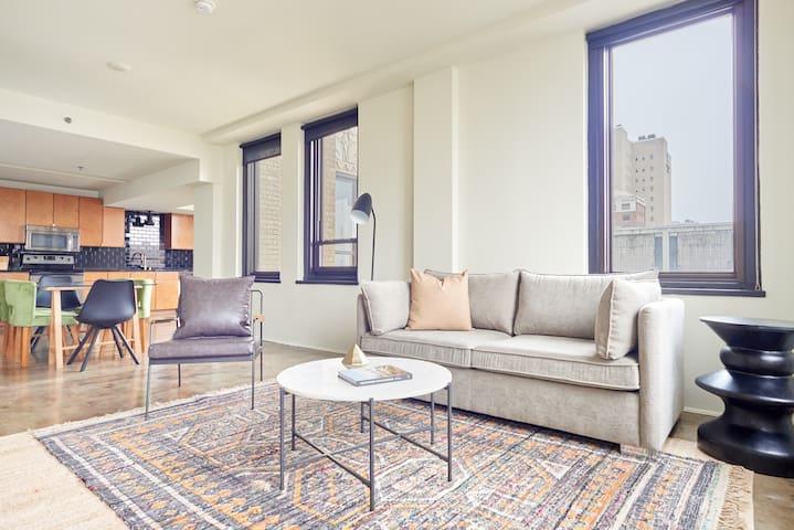 Sonder | DPL Flats | Charming 2BR + Sleeper Sofa