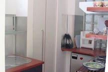 Fully-equipped Kitchen area