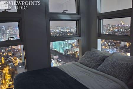 ★4 서울역 환상적인 전망 29층의 카페라운지 헬스 커피 무료 - Yongsan-gu
