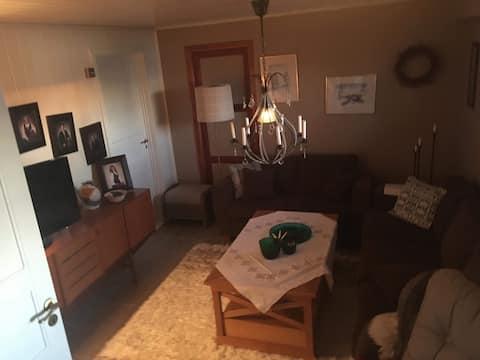 Romslig 55 kvadrat leilighet i Søvik