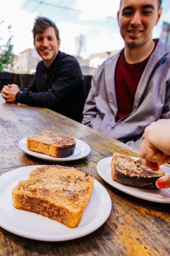 Taste Local Sourdough Toast