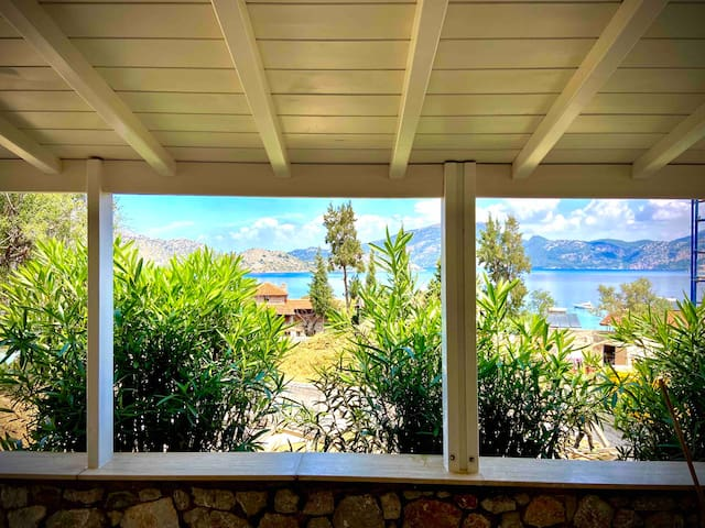 House with a stunning view in Selimiye Village