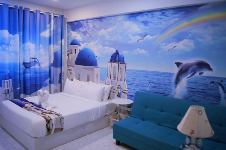 Santorini Hotel Melaka,Jonker Street,Deluxe R4
