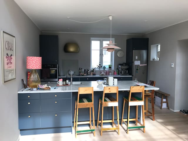 Town house in hellerup 4 min walk from the sea