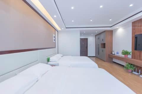 上谷大观有客舒适双床房