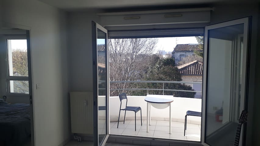 Apartement T2 avec grand balcon