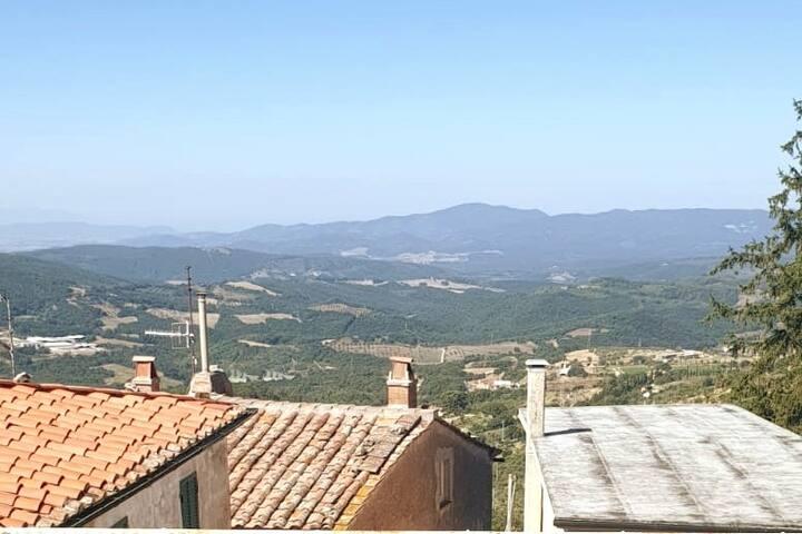 Casa Vacanze con vista Monterotondo Marittimo