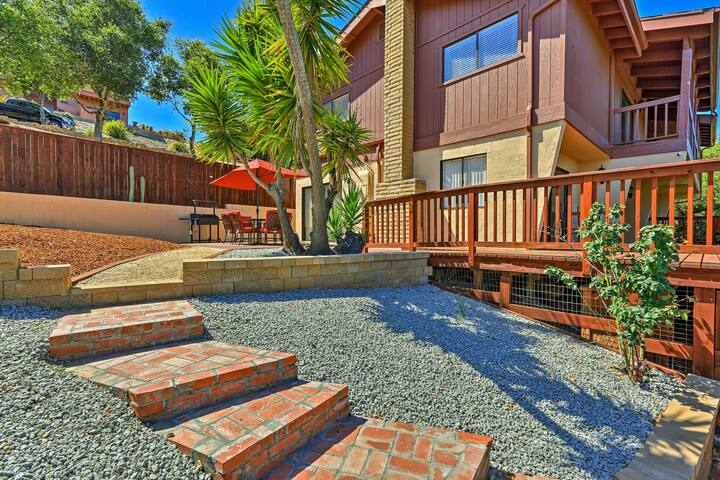 Warm Arroyo Grande Home w/Patio - Steps to Village