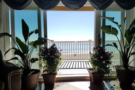 Luxury Beach Front Condo! Prime Location!