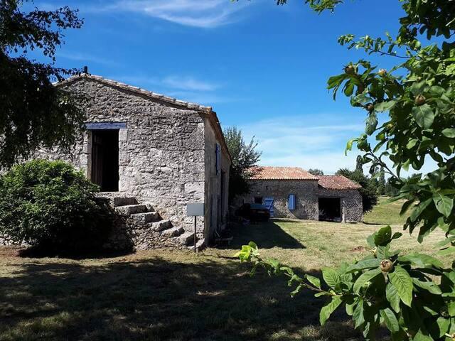 Maison de campagne à Naussannes