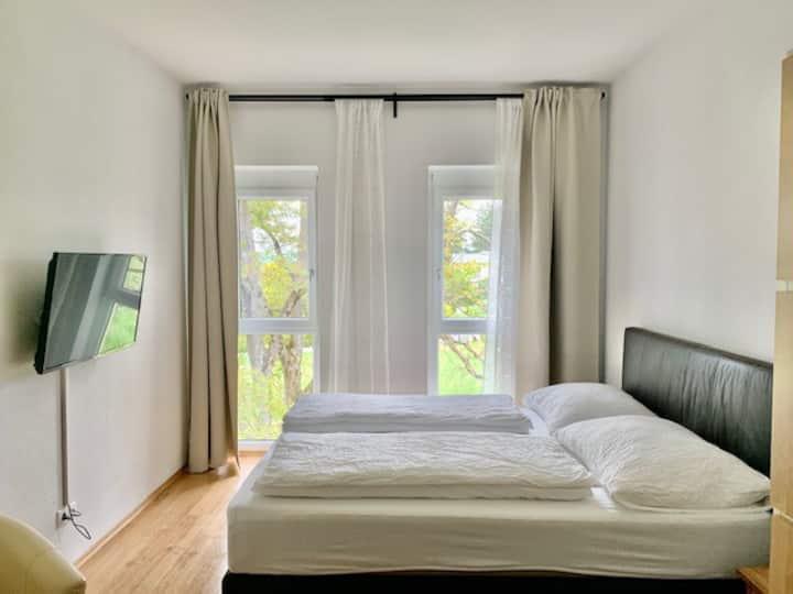 Apartments mit  Parken & wöchentliche Reinigung