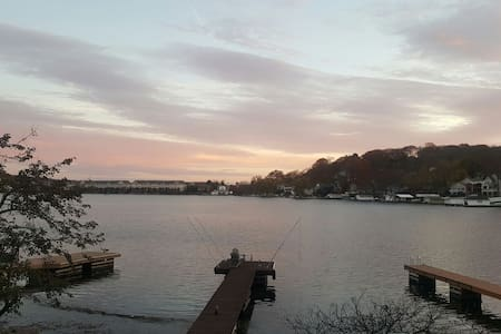 Bright one bdrm on lakefront w/dock - Lake Hopatcong - Дом