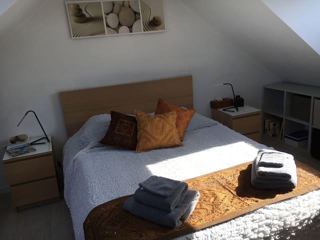 Chambre Suite avec salle d'eau privative 22m²