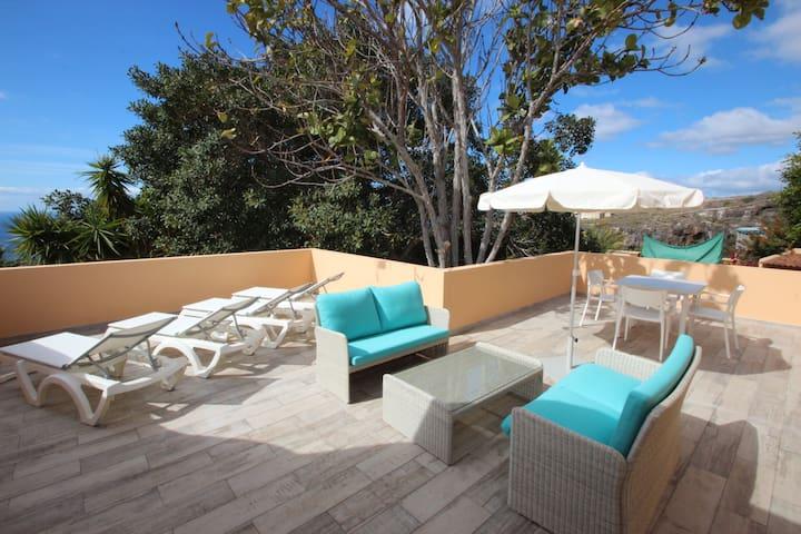 Casa Zahora, Finca Sanjuan, Playa San Juan - 聖克魯斯-德特內里費 - 公寓