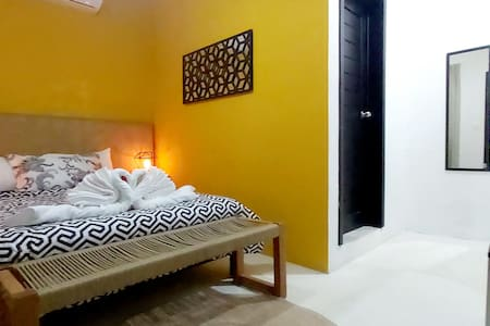 room with pool 100 meters from the beach