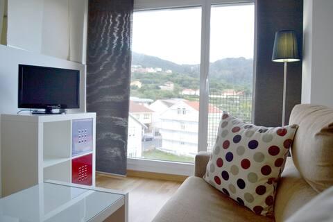 Apartamento 200m playa en Cariño