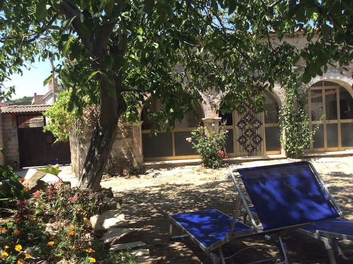 Tipica antica casa Sarda (south east of Oristano)