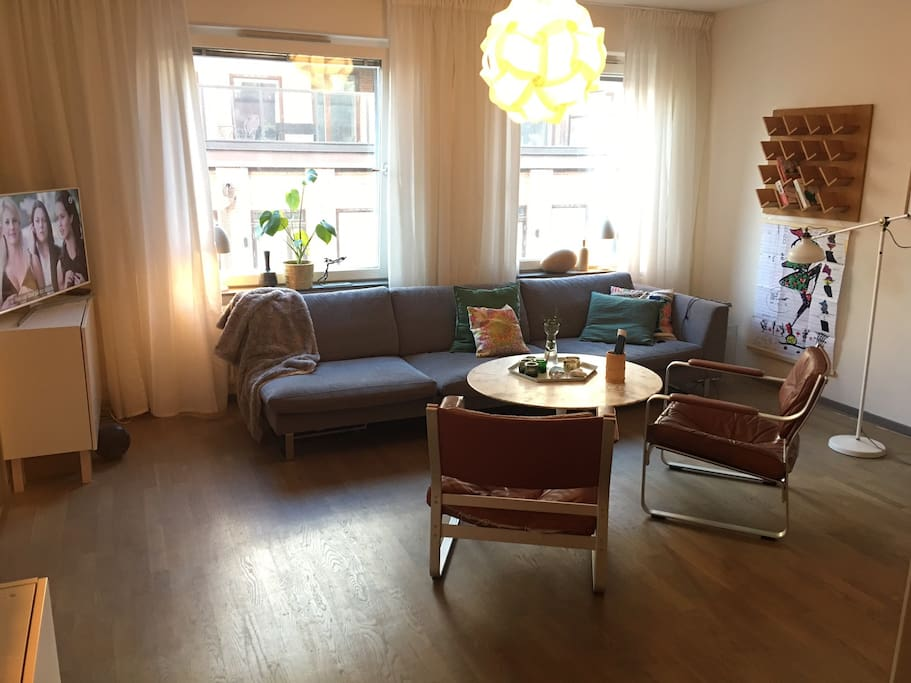 the living room